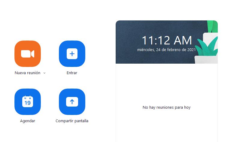 zoom pantalla presentacion en español