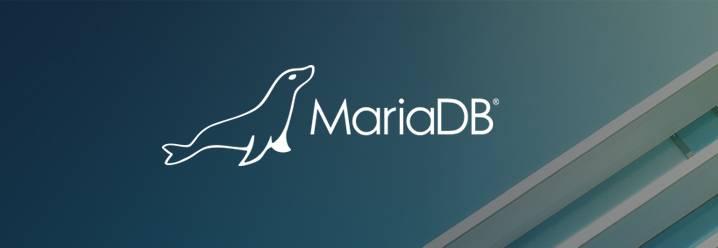 logo de mariadb para backups en zip