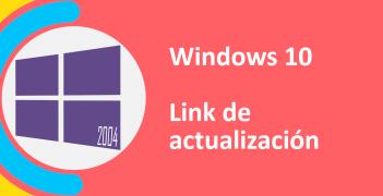 actualización de windows 10 mayo 2020
